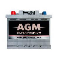 Аккумулятор AGM Silver Premium 50Ah 480A