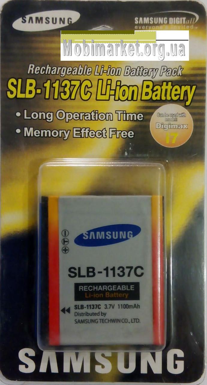 Аккумуляторная батарея SAMSUNG SLB-1137C 3.7V / 1100mAh