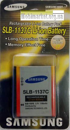 Аккумуляторная батарея SAMSUNG SLB-1137C 3.7V / 1100mAh, фото 2