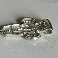 Крест серебряный с Георгием победоносцем