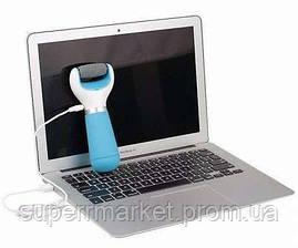 Роликовая пилка ШОЛЬ для стоп  + USB-кабель (в стиле Velvet Smooth - DIAMOND Crystals), фото 3