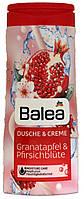 Гель для душа с кремом DM Bаlea Dusche-Creme Granatapfel & Pfirsichblute 300мл.