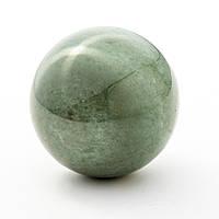 Шар сувенир из натурального камня Нефрит d-5см