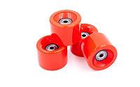 Колеса для скейтборда (4шт) с подшипником ABEC-7 SK-4797-1 красный (PU, р-р 60х45мм) Распродажа!