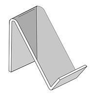 Подставка под мобильный телефон 40х70 мм (Толщина акрила : 1,8 мм; )