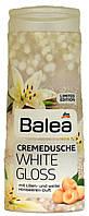 Гель для душа с кремом DM Bаlea Dusche-Creme White-Gloss 300мг.