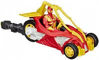 Железный паук на трицикле с пусковым механизмом, Spider-man