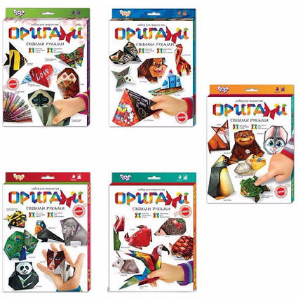 """Набір для творчості """"Орігамі"""" Dankotoys, фото 2"""