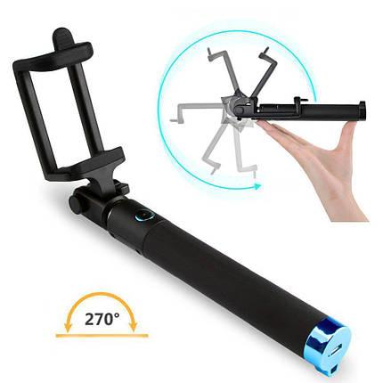 Палиця для селфи Selfie Stick Locust Series з функцією розвороту на 270 градусів і Bluetooth, фото 2