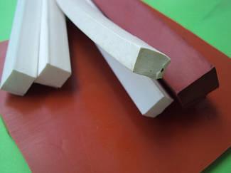 Шнур силиконовый, силиконовый профиль, силиконовый уплотнитель, шнур силиконовый пористый
