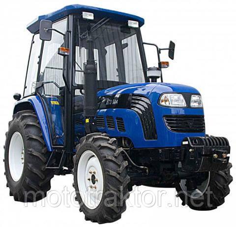 Трактор ДТЗ 4504К (50л.с, кабина с отоп., 4х4, 2 насоса гидр.)