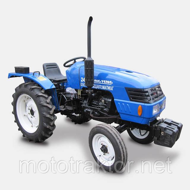 Трактор Dongfeng DF 240D (24 л.с., 4х2, новый дизайн)