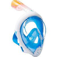 Инновационная маска для снорклинга подводного плавания Easybreath | Маска для ныряния