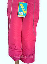 Штаны теплые с вышивкой, фото 3