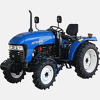 Трактор JINMA JMT3244Н (3 цил., 24л.с., КПП(16+4), сиденье на пружине, 2-х дисковое сцепление)