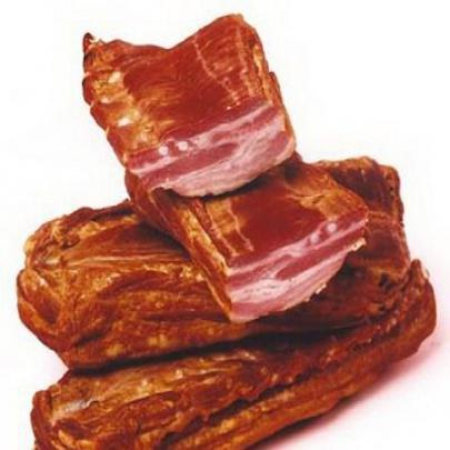 Аппетитное мясо горячего копчения