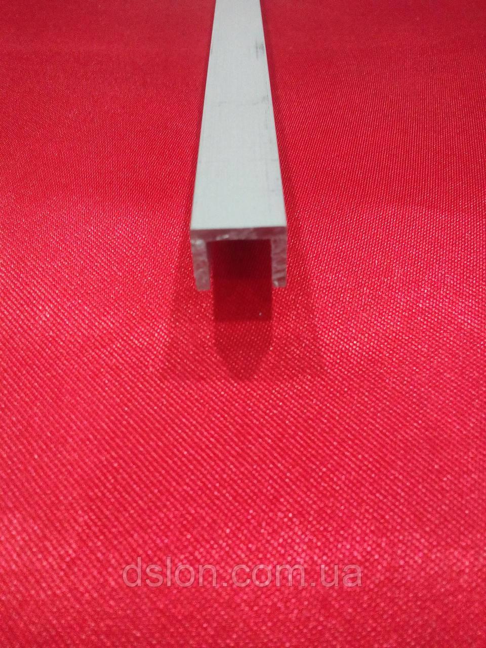 Швеллер анодированный, П-образный 8*8*8*1