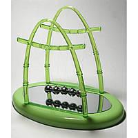 Шары Ньютона зеленые (22х18,5х13 см)
