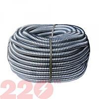 Металлорукав РЗЦ d 22мм (25м) с протяжкой 220тм