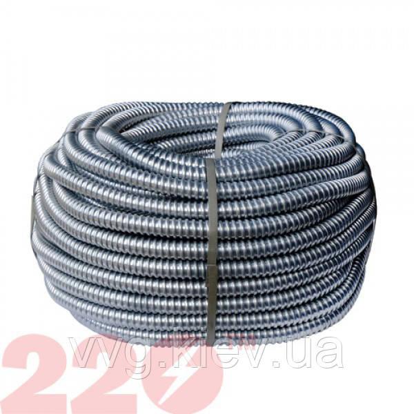 Металлорукав РЗЦ d 18мм (50м) с протяжкой 220тм