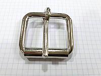 Пряжка A1726 никель 40 мм