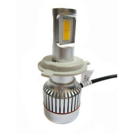Світлодіодні лампи для автомобіля Car Led H4 c цоколем 33W 4500-5000K 3000LM CAR, фото 2