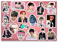 Stickers Pack EXO #170, фото 1