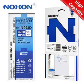Аккумулятор Nohon для Samsung SM-N910 Galaxy Note 4 (ёмкость 3220mAh)