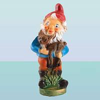 Садовая фигура, скульптура для сада Гном лесничий (М)