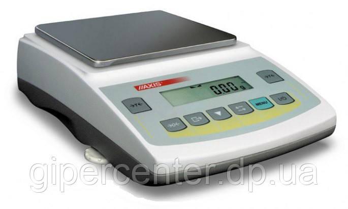 Весы лабораторные Axis ADG 1000C до 1000 г, дискретность 0,01 г
