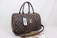 Женская  сумка  Louis Vitton из эко - кожи  цвет Коричневый