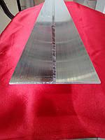 Тавр алюминиевый   80*50*1,7 мм. рельефный