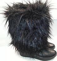 Унты женские зимние натуральная кожа p36 мод № 410 DOLG