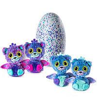 Hatchimals Twin Двойной сюрприз в яйце Котята. Хэтчималс двойня драко
