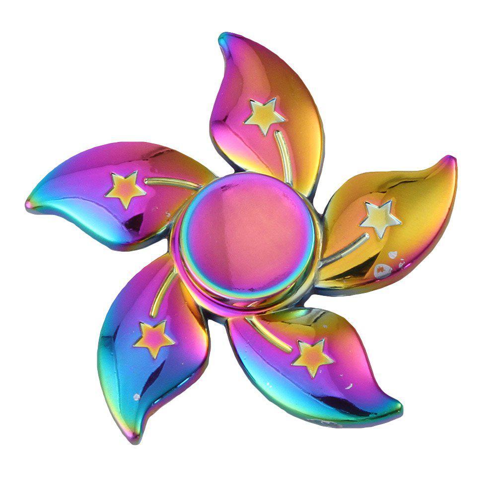 Спиннер хамелеон цветок