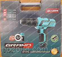 Шуруповерт GRAND ДА-12DFR