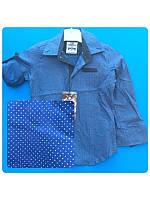 Модная  рубашка BOSS для мальчика 128, 146