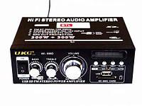 Усилитель звука UKC AK-699D + FM, USB
