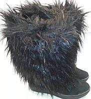 Унты женские зимние натуральная замша p36 мод № 410 DOLG