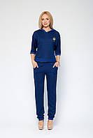 Синий модный спортивный костюм Марин