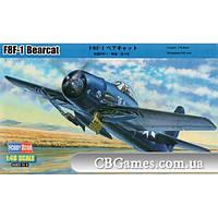Палубный истребитель F8F-1 Bearcat (HB80356) Масштаб:  1:48