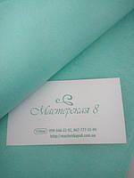 Бумага тишью мятная/тиффани 55*60 см, упаковочная бумага, бумага для помпонов