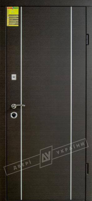 "Двери ""СИТИ"" ""МИЛАН""  (1/2) ""KALE"" Венге темный горизонт"