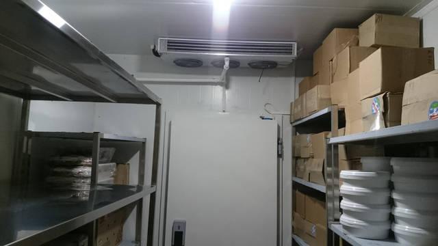 Холодильные камеры для ресторана Mister Cat!