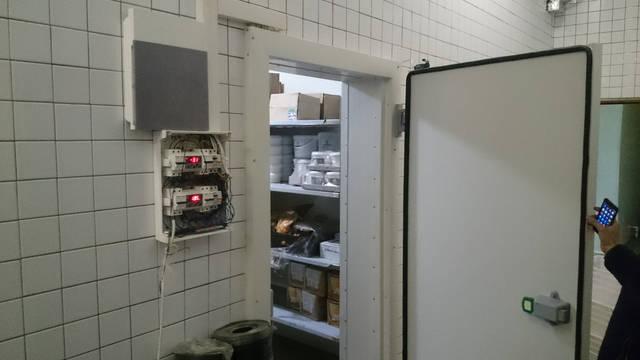 Холодильные камеры для ресторана Mister Cat! 2