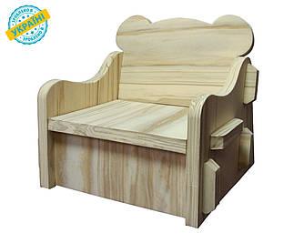 """Детский стул """"Baby desk"""" Eva-Line дерево"""