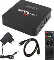 Медиаплеер ATRiX TV BOX MXQ PRO 4K UHD
