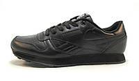 Кроссовки Reebok Classic Leather черные унисекс (р.36)