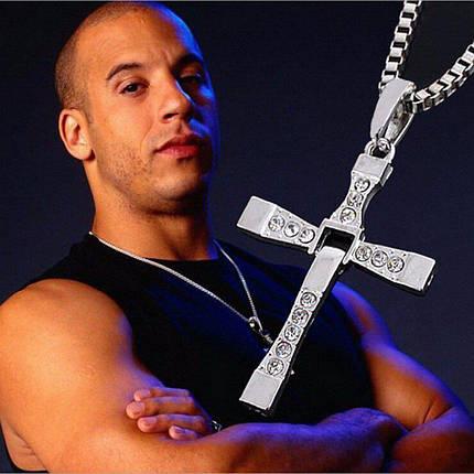 Крест Торетто с цепочкой, фото 2