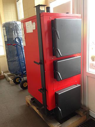 Твердотопливный котел Altep Альтеп КТ-2E 25 кВт с витрины, фото 2